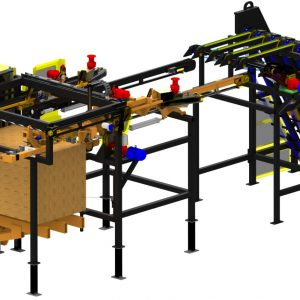 Pallet mill Ultra High speed forkless stacker