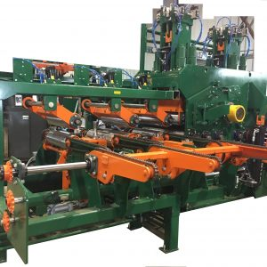 Optimized transversal gangsaw