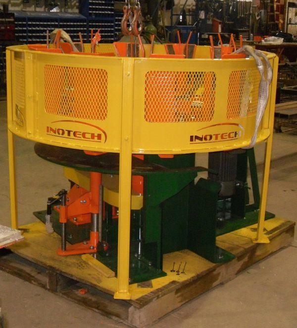 Pallet mill block trimmer