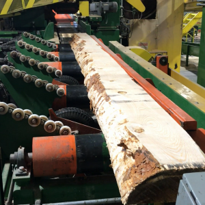 Smart bandmill infeed/outfeed